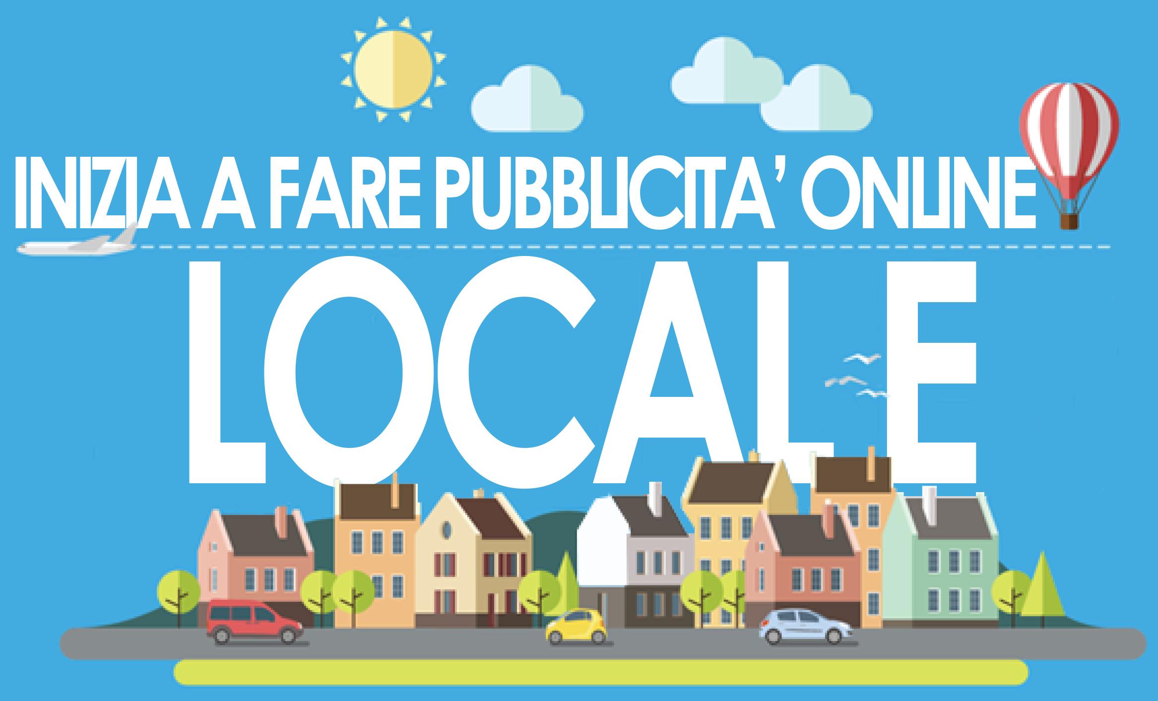 pubblicità locale online